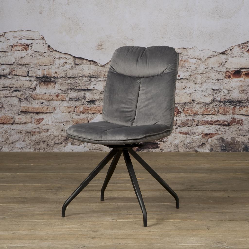 Drehbarer Stuhl ohne Armlehne | Rosa