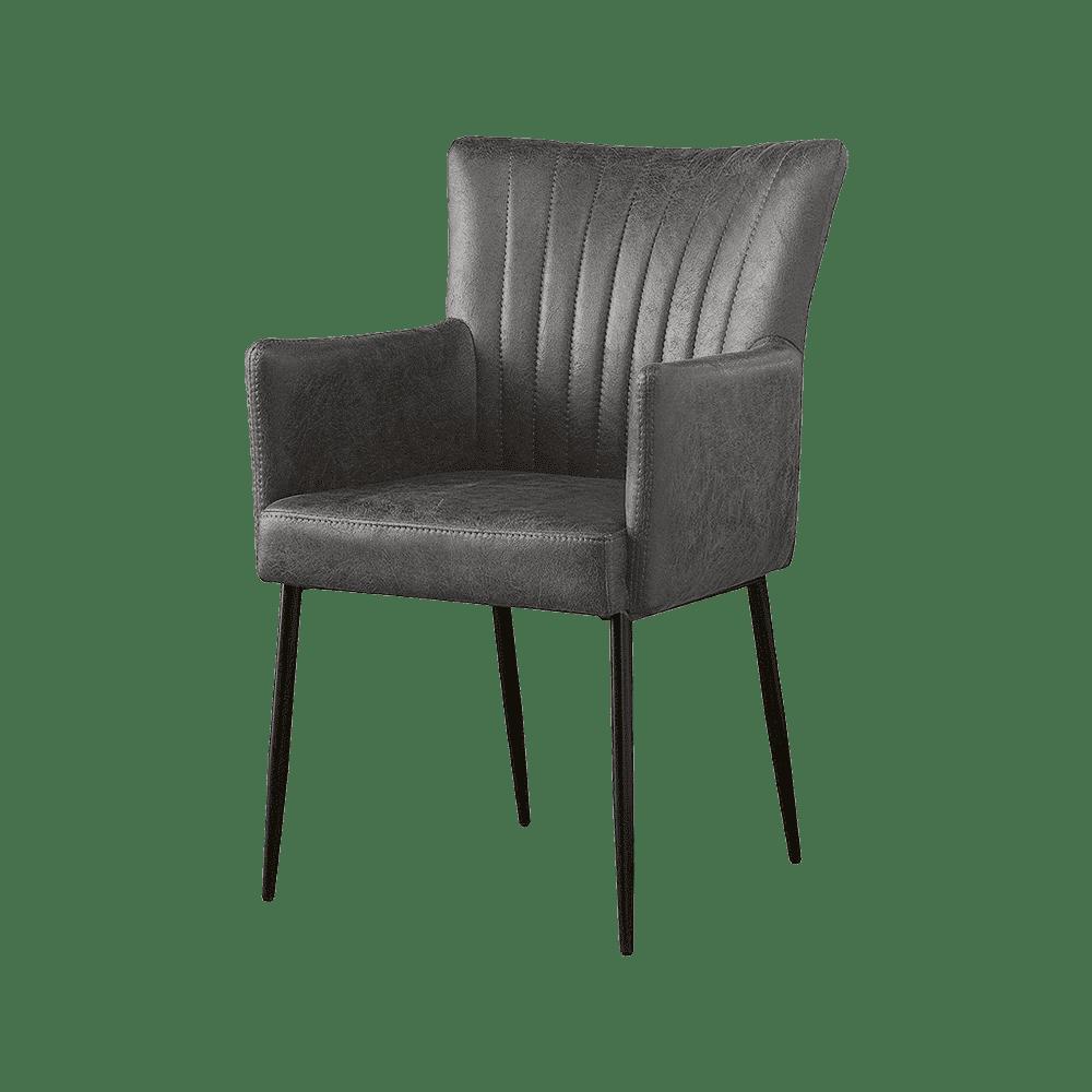 Stuhl mit gepolsterter Armlehne | Charly