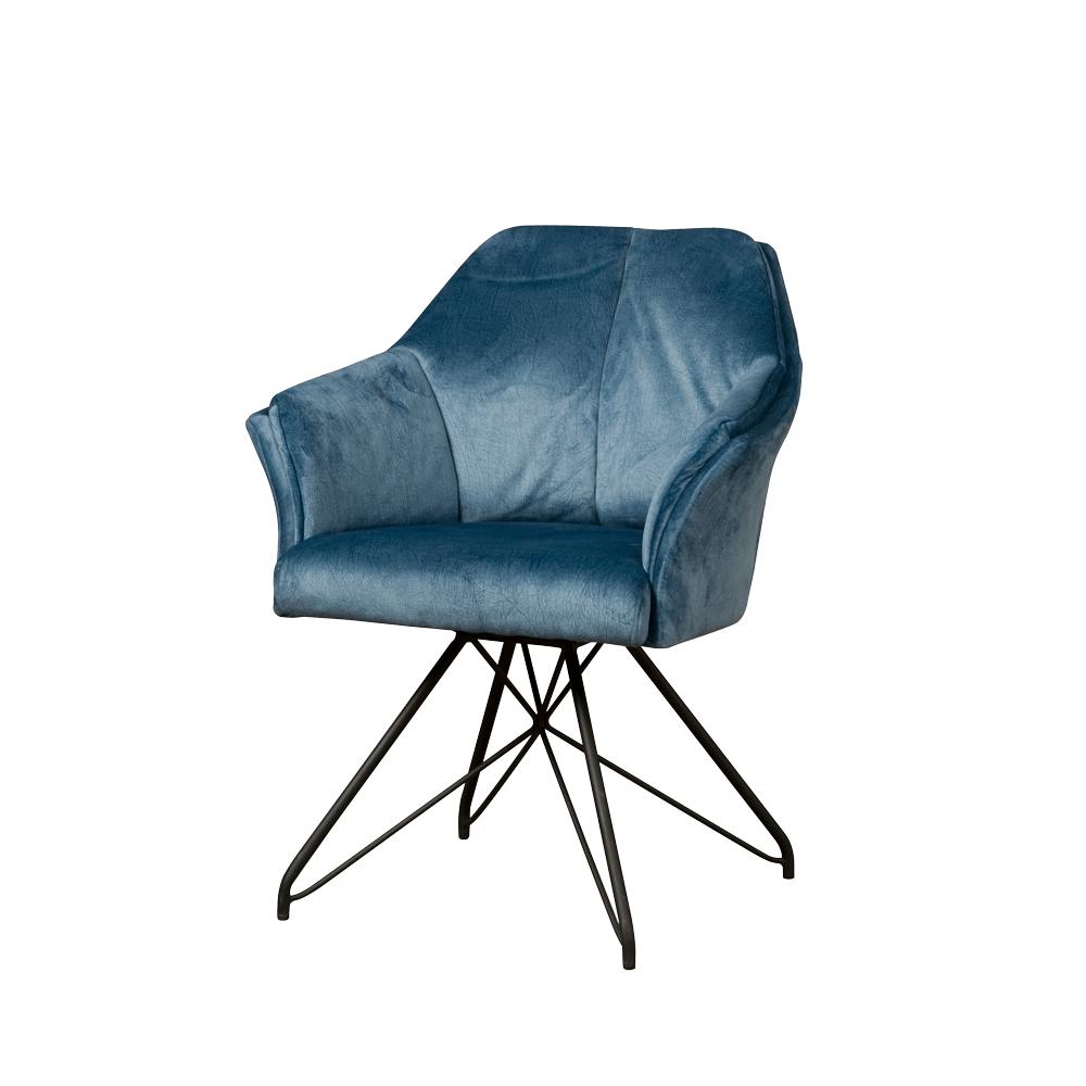 Drehbarer Stuhl mit gepolsterter Armlehne | Bino