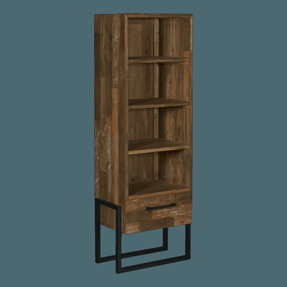 Bücherschrank | Bogota | Teakholz